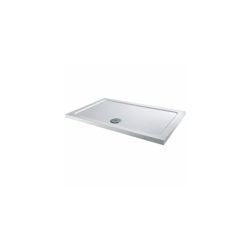 Twyford Shower Tray 900x760 Rectangle Flat Top