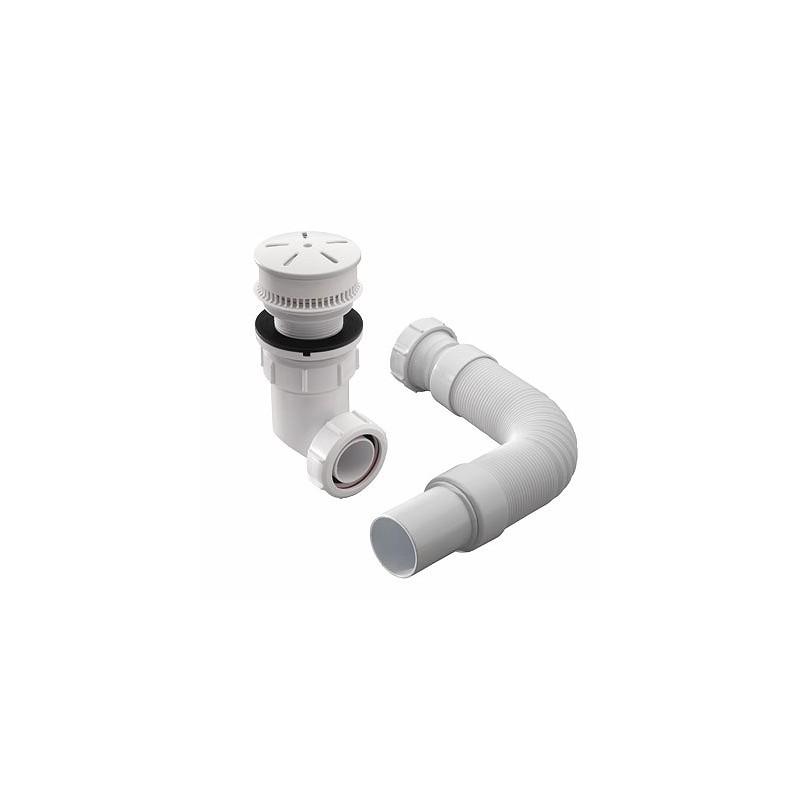 """Twyford Odourwise Installation Pack 1.5"""" BSP 75mm Flange White"""
