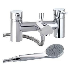 Twyford X60 Deck Mounted Bath Shower Mixer