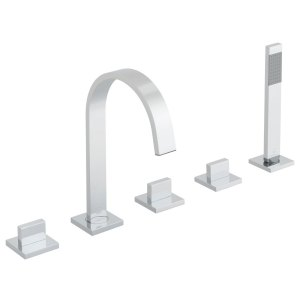 Vado Geo 5 Hole Bath Shower Mixer