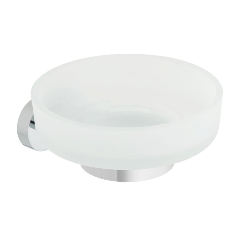 Vado Life Frosted Glass Soap Dish & Holder
