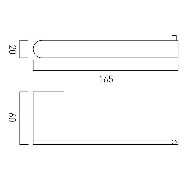 Vado Photon Paper Holder