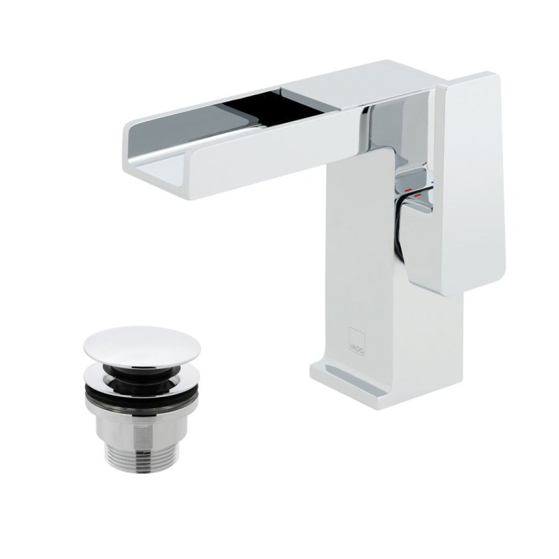 Vado Synergie Mono Basin Mixer with Universal Waste