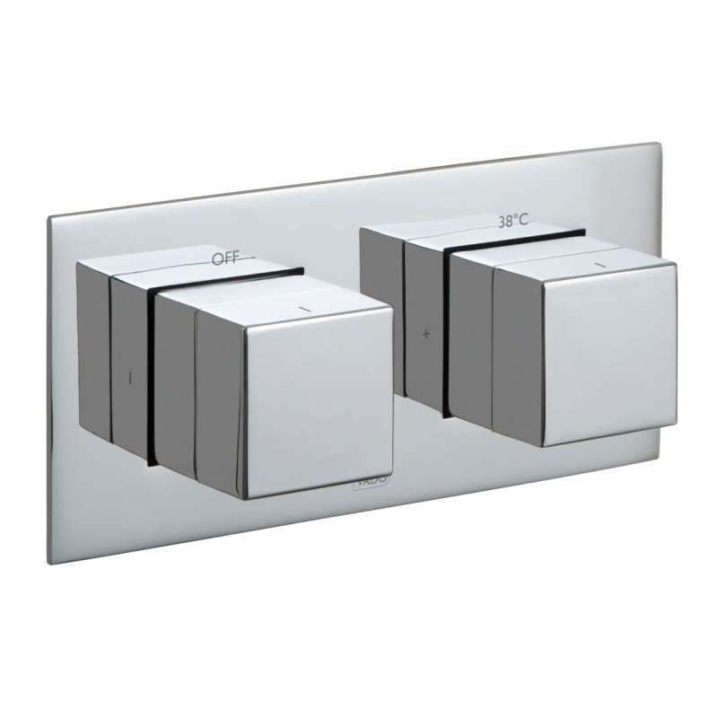 Vado Notion 1 Outlet, 2 Handle Thermostatic Shower Valve