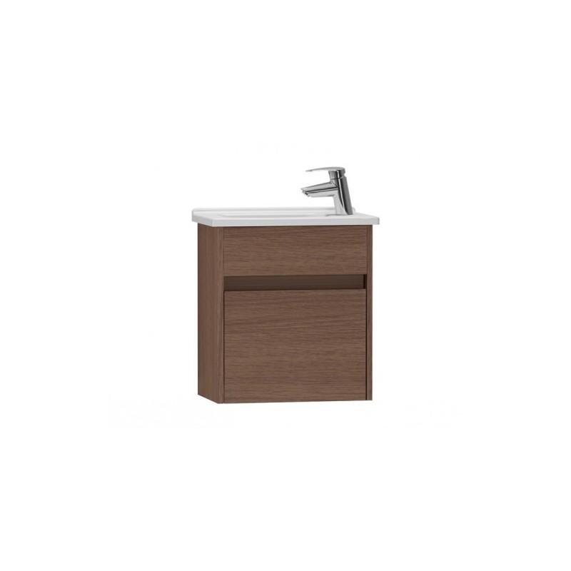 Vitra S50 50cm Compact Washbasin Unit with 5346 Basin Oak