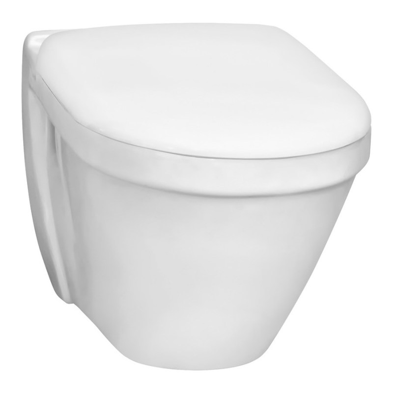 Vitra S50 Wall-Hung Short Projection Toilet with Standard Seat