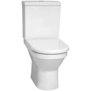 Vitra S50 Close-Coupled WC Pan White Open Back