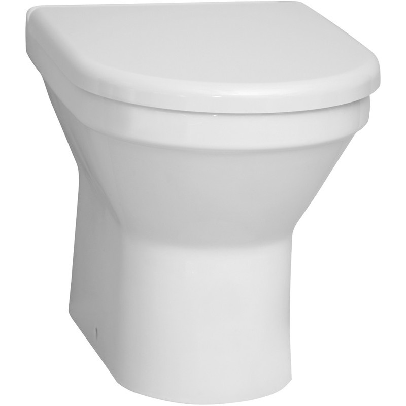Vitra S50 Back To Wall Toilet with Standard Seat