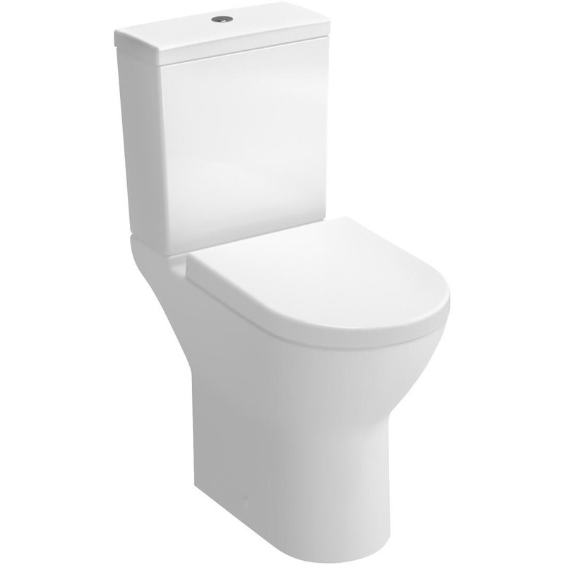 Vitra S50 Comfort Height Close Coupled WC Pan White Open Back