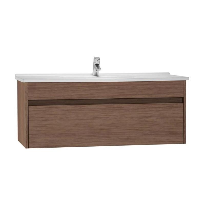 Vitra S50 120cm Washbasin Unit with 5480 Basin Oak