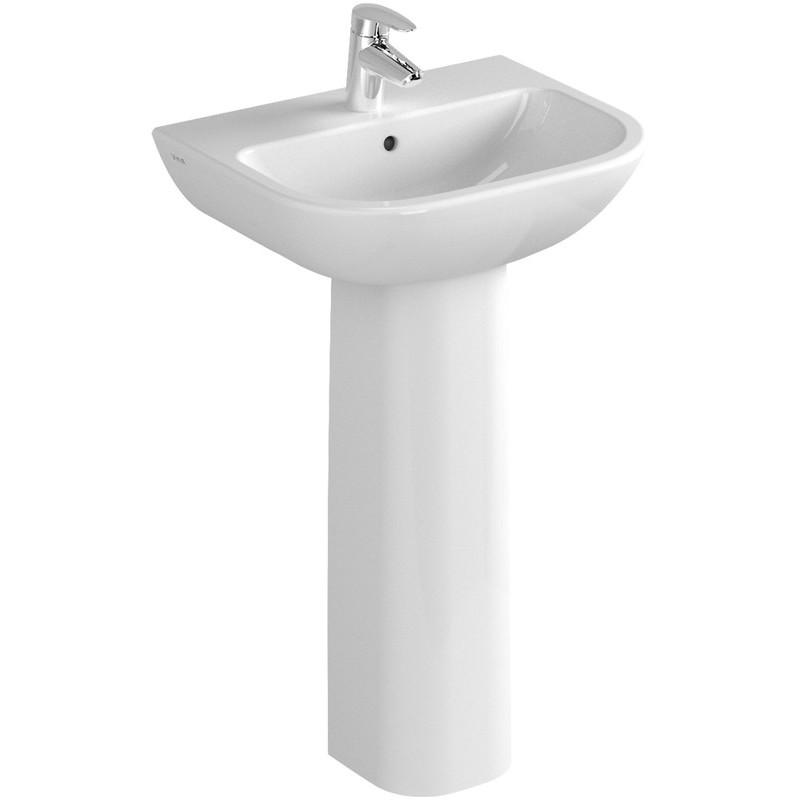 Vitra S20 Cloak Basin 50cm 1 Taphole White
