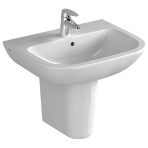 Vitra S20 Washbasin 55cm 1 Taphole White