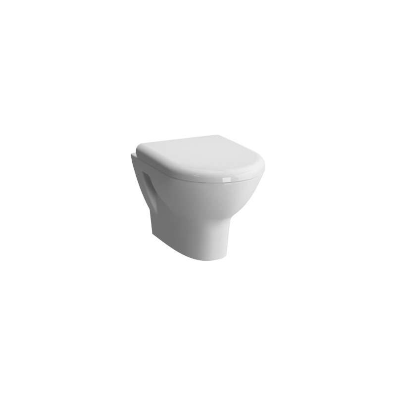 Vitra Zentrum Wall-Hung Toilet with Standard Seat