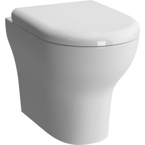 Vitra Zentrum Back-To-Wall WC Pan