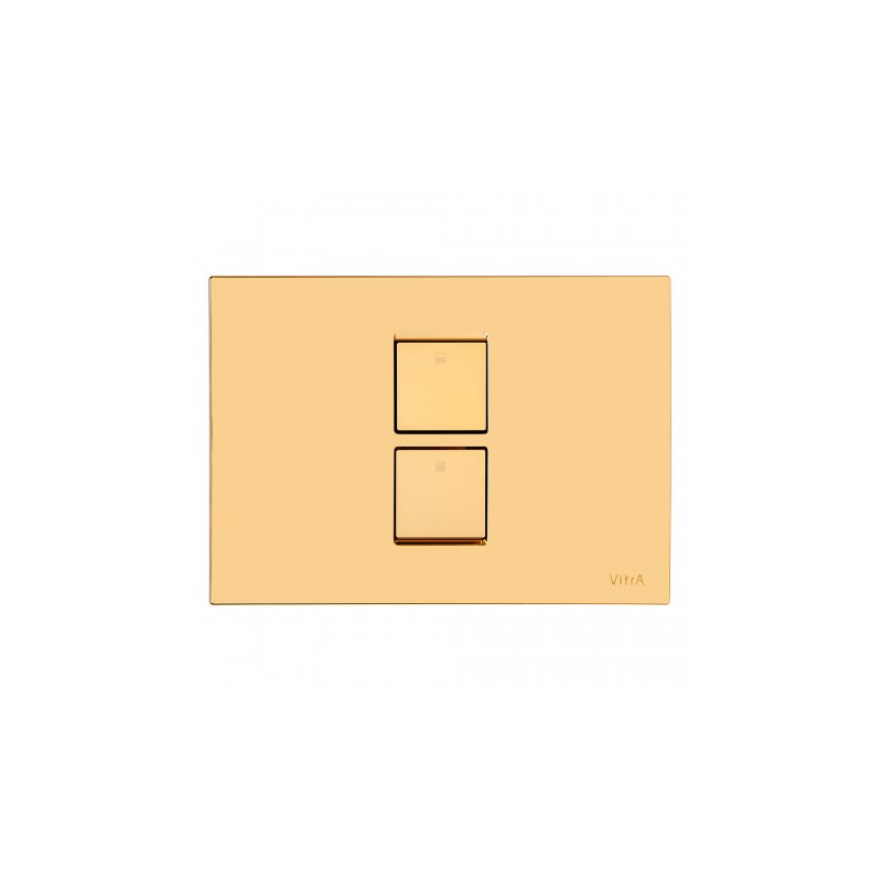 Vitra Twin 2 Control Panel Gold Plated