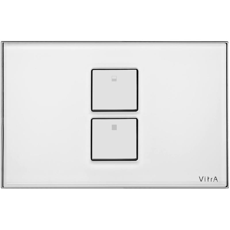 Vitra Twin 2 Control Panel Matte Chrome Plated