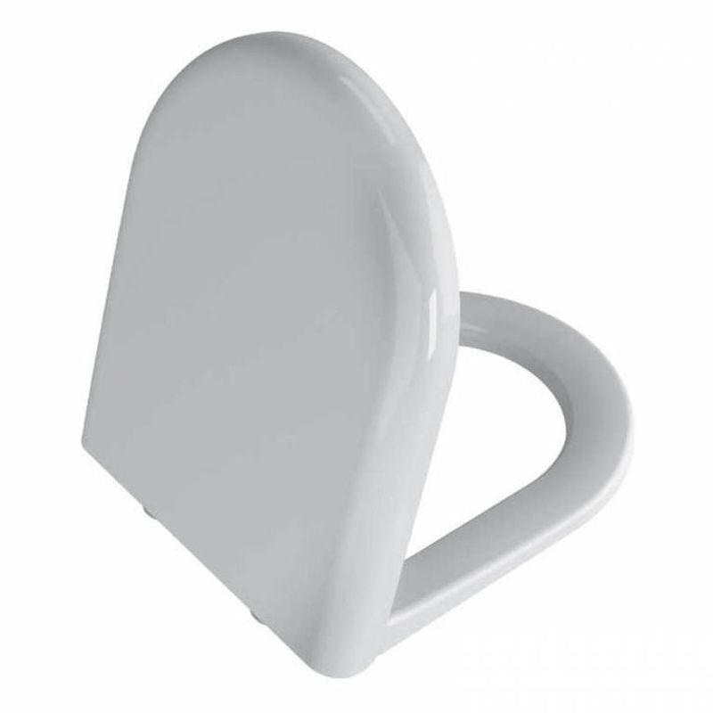 Vitra Zentrum Toilet Seat and Cover, Soft Close, White