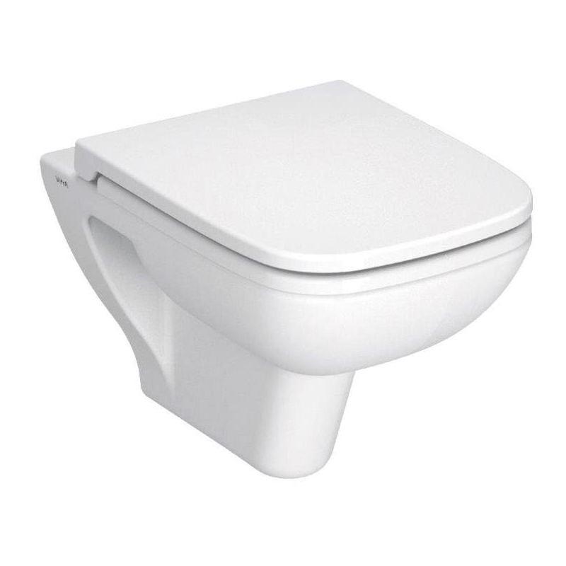 Vitra S20 Wall Hung WC Pan & Soft Close Toilet Seat