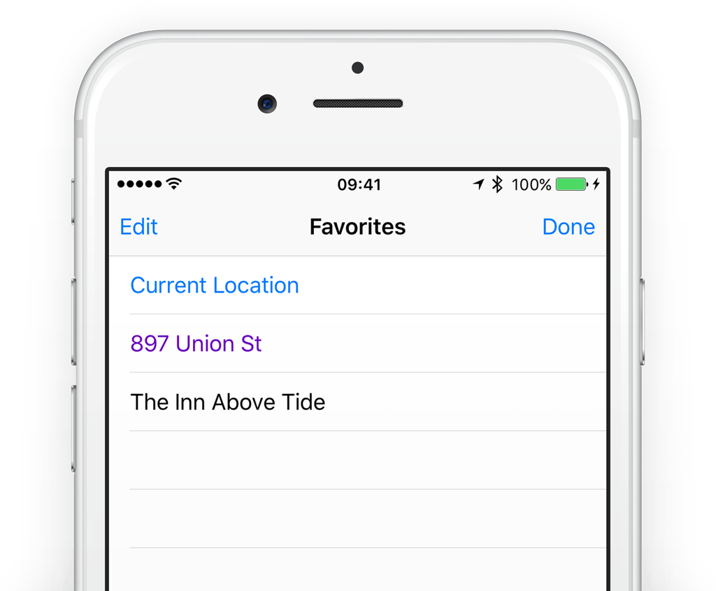 Guide How To Save Favorite Locations In The Iphone Maps