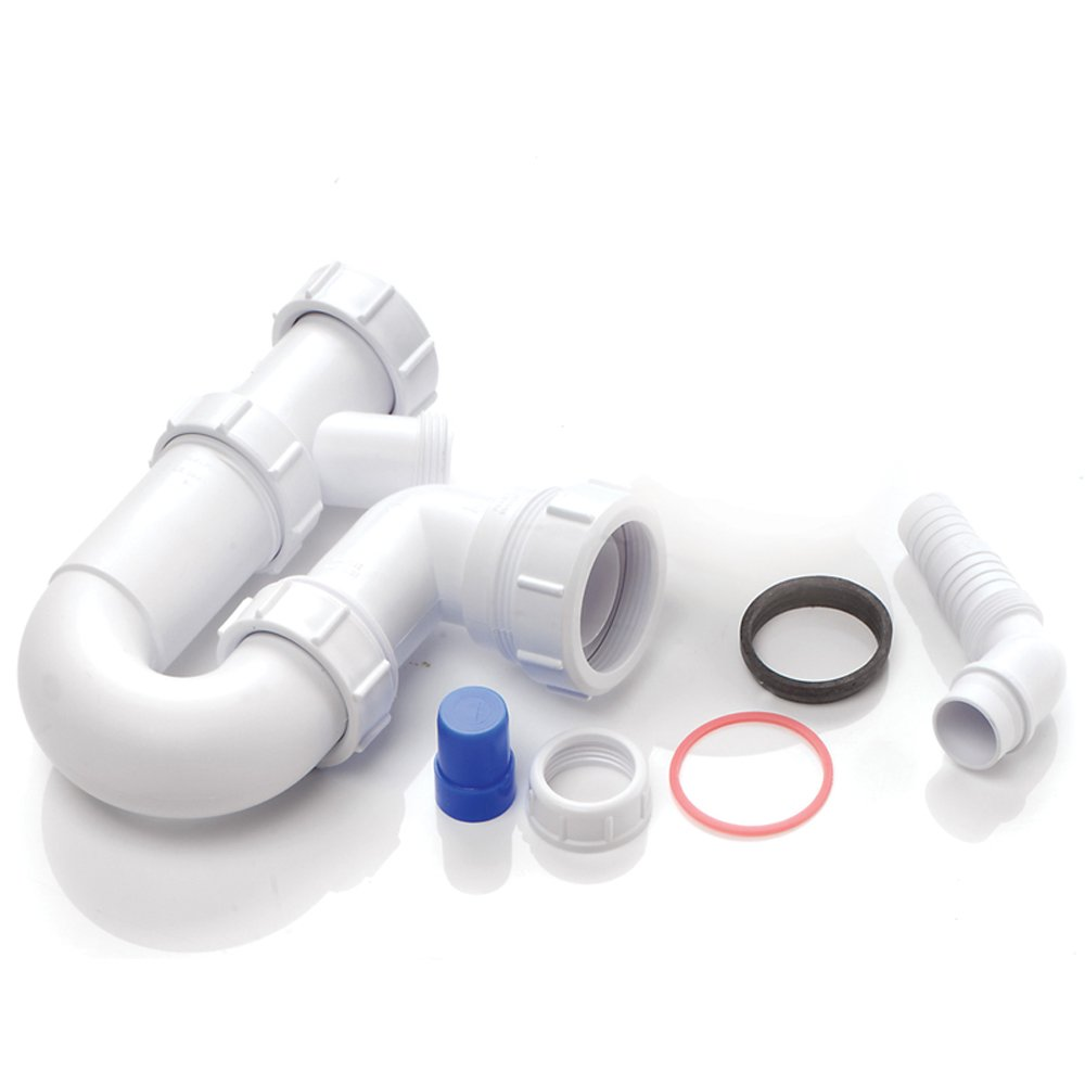 astini 1 0 bowl kitchen sink plumbing kit with 1 appliance connection wm15