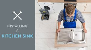 replace a kitchen sink tap warehouse