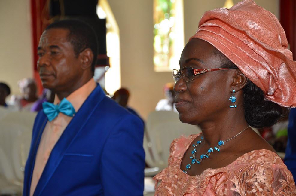 Gov. Darius Ishaku Attends Nieces' Wedding in Kaduna