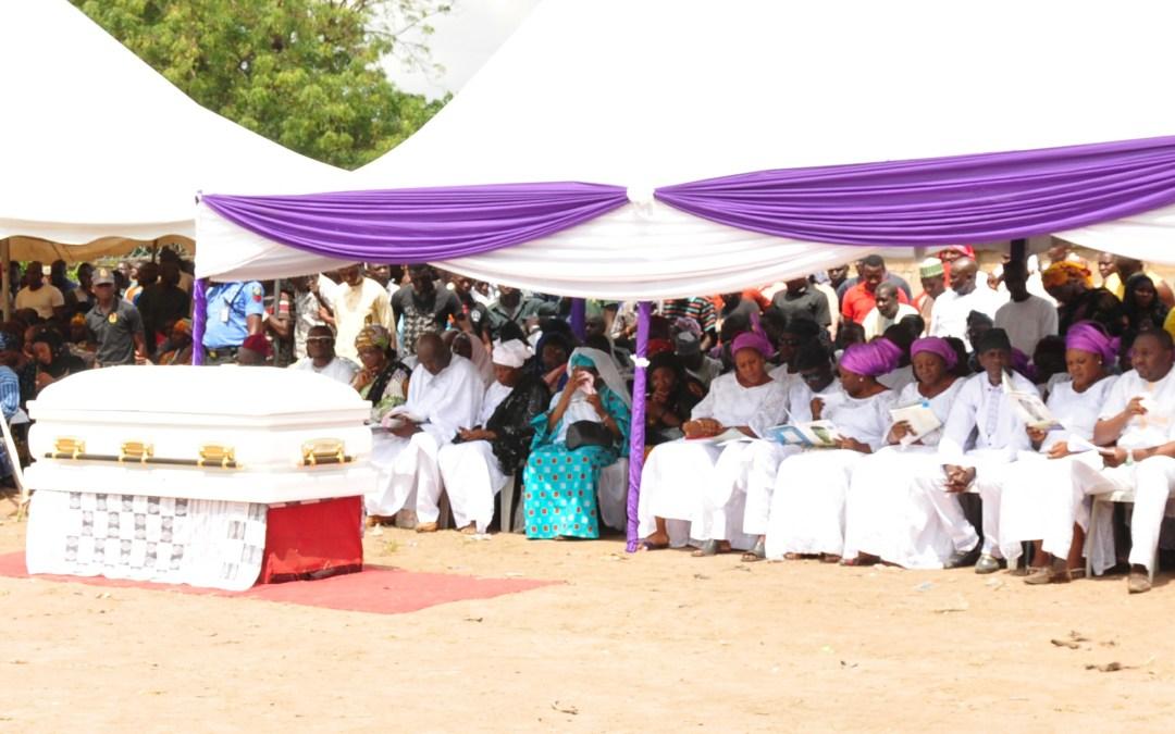 Late Elder Jibrin Amfani Laid to Rest Amidst Showers of Encomiums.