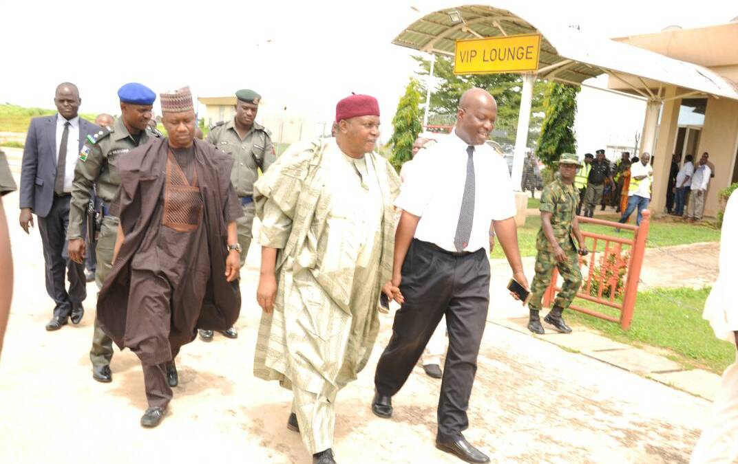Gov. Ishaku Inspects Projects to be Commissioned by the Vice President