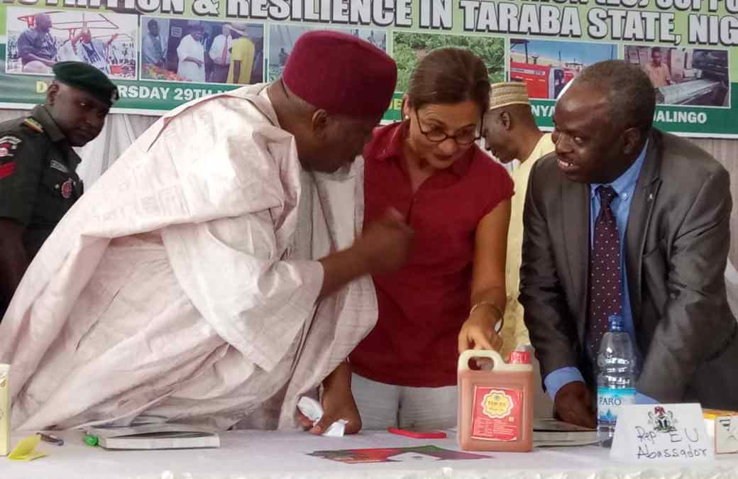 Gov. Ishaku Flags-Off EU OXFAM PROSELL Project