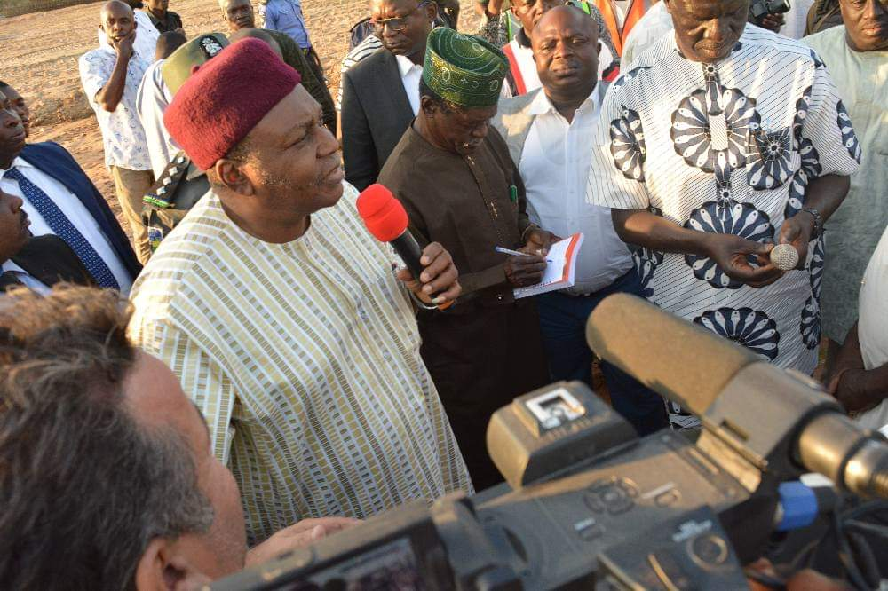 Road Inspection: Governor Ishaku Express Satisfaction With the Level of Work Done