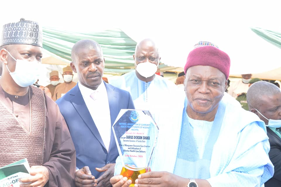Gov. Ishaku Flags Off Health Insurance Scheme, Urges People to Register for Its Facilities