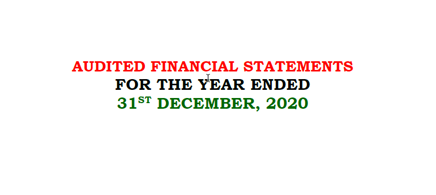Taraba Audited Local Government Financial Statements – 2020