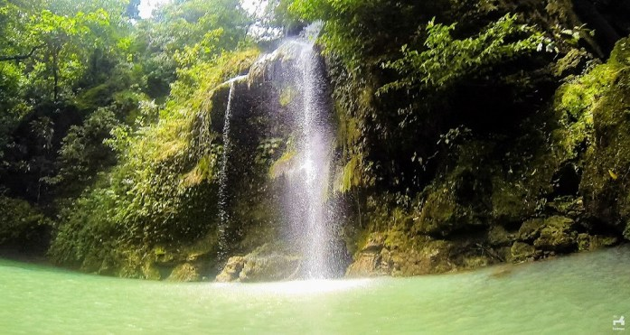 Batlag falls in Rizal
