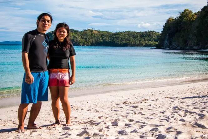 Subic Beach in Matnog, Sorsogon