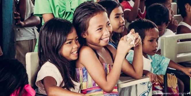 School children in Siargao outreach