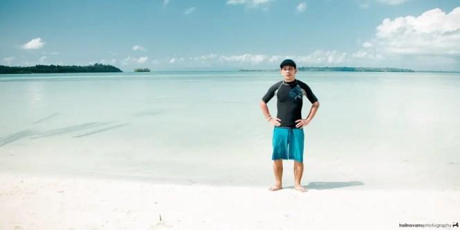 Hali in Punta Sebaring, Balabac, Palawan