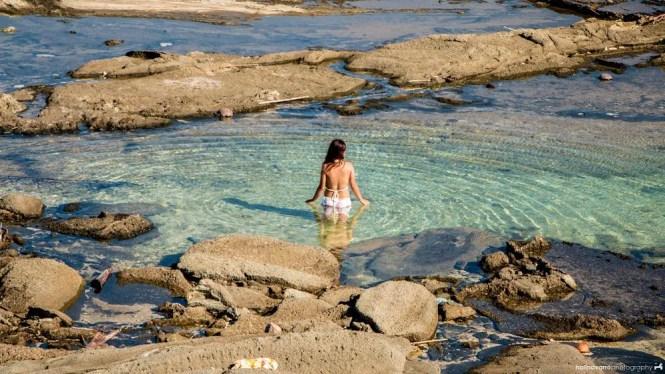 Natural lagoon in Biri