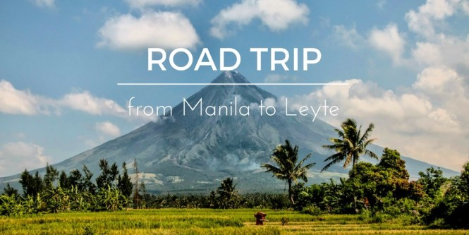 Road trip from Manila to Leyte