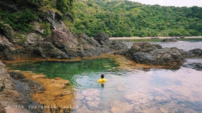 Natural pool in Nupa, Catanduanes