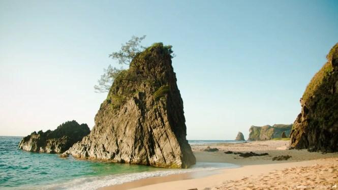 Sibang Cove in Calayan Island, Cagayan