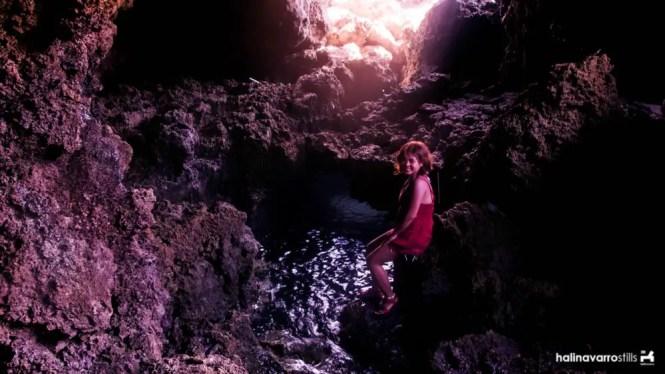 Cave in Koding-Koding Point, Carabao Island