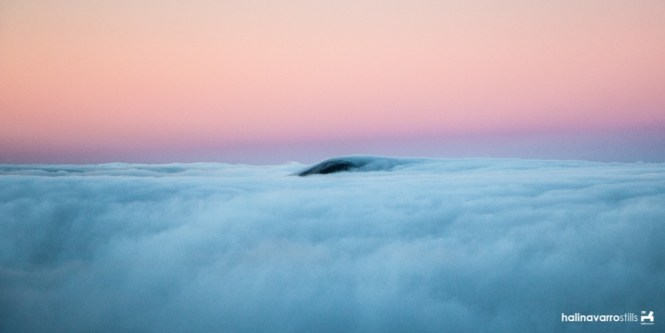 Sea of clouds in Mount Pulag, Philippines