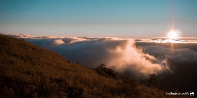 View near the saddle camp in Mount Pulag