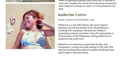 Sexiest travelers 2017 - Katherine