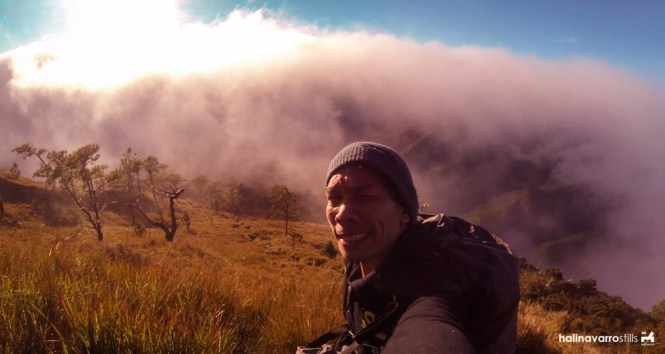 Near saddle camp in Mount Pulag, Philippines