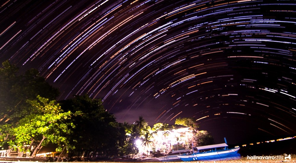 Star trail in Biliran