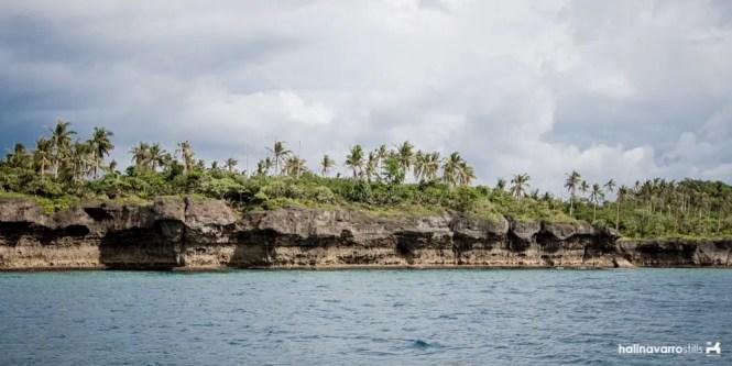 Higatangan Island rock formation3