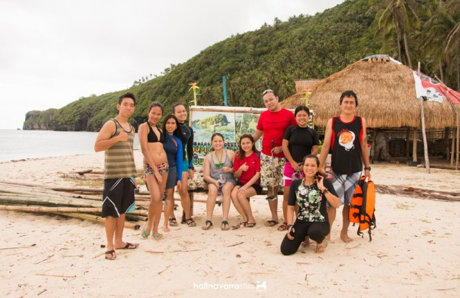 Group shot in Bulalacao, Mindoro