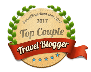 Top Couple Travel Bloggers Badge Award