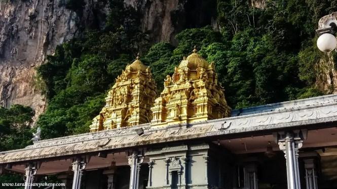 Batu Caves temple towers